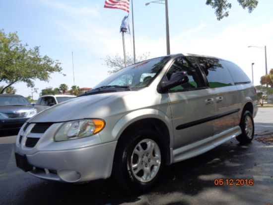 Used 2001 dodge grand caravan accessible van florida fort myers 33905 for sale 1167019dodge