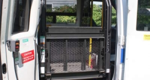 Dodge Sprinter wheelchair vans have considerable entry room