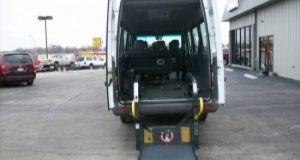 Popular rear entry Sprinter wheelchair van with Ricon Lift