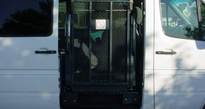 Dodge Sprinter with side entry wheelchair lift gate