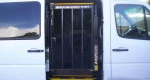 Dodge Sprinter Wheelchair Lift On Side Entry