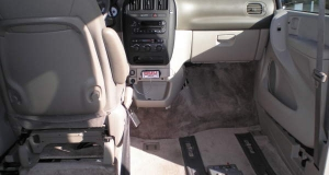 Dodge Grand Caravan interior for wheelchair passengers