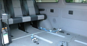 2007 Dodge Sprinter handle multiple wheelchairs simultaneously