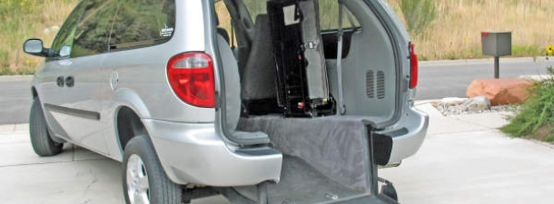What Are The Rear Entry Options For Dodge Wheelchair Vans Dodge